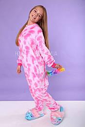 Костюм кигуруми пижама единорог розовый Pink Star, кигуруми оптом
