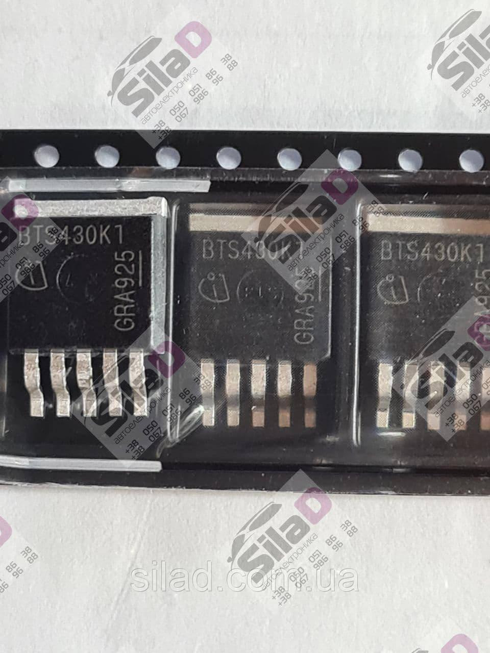 Транзистор BTS430K1 Infineon корпус TO-263-5