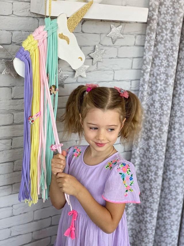Единорог для маленькой принцессы Bobilon. Развивающий конструктор