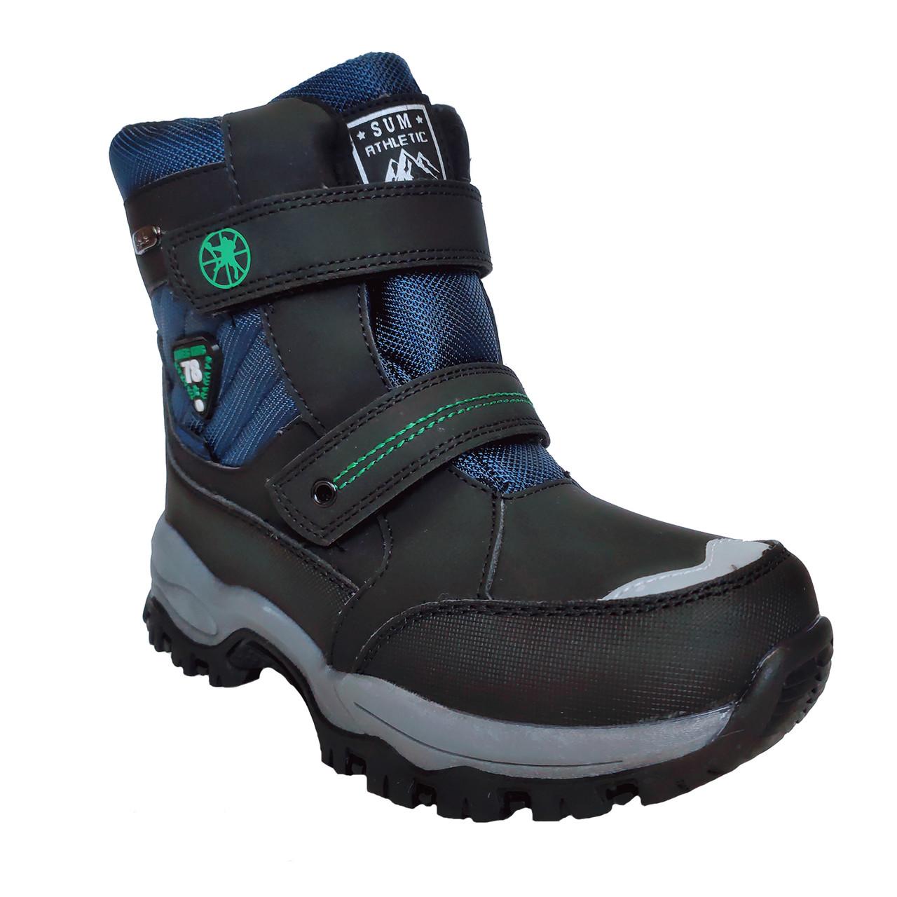 Термо сапоги том на мальчика ,размер 36 стелька 22,8 см Теплые зимние ботинки, сноубутсы, сапоги Tom.m