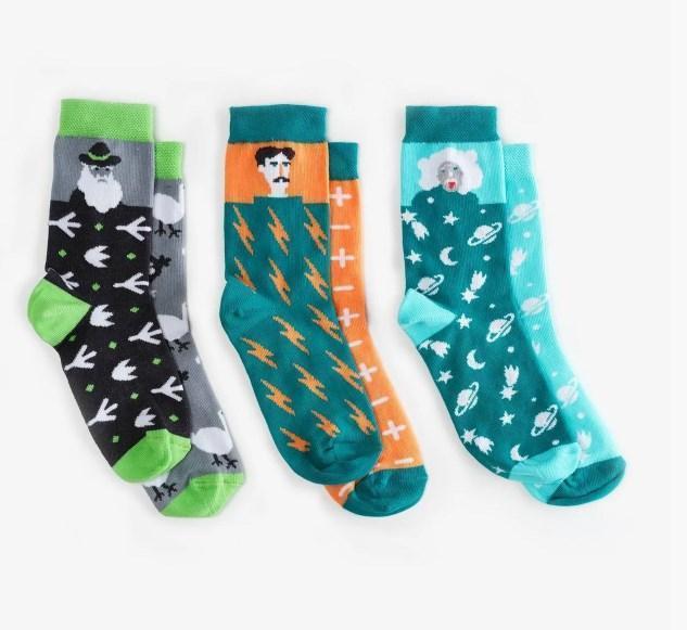 Носки детские Dodo Socks Kunsht 2-3 года, набор 3 пары