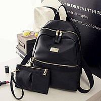 Женский рюкзак 2021, городской практичный рюкзак черного цвета, AL-2542-10