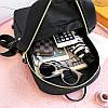 Жіночий рюкзак 2021, міський практичний рюкзак чорного кольору, AL-2542-10, фото 6