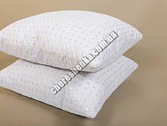 Подушка микрофибра/холлофайбер 70*70 белая (на замке)