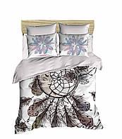 Комплект постельного белья LightHouse Ранфорс 3Д Dreamcatcher Евро подарок на Новый год 2021