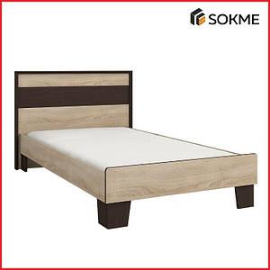 Кровать 90, коллекция СКАРЛЕТ (Сокме)