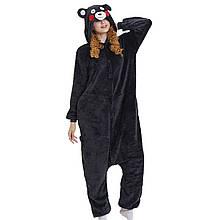 Кигуруми Ведмідь чорний костюм піжама комбінезон розмір S