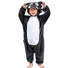 Кигуруми Вовк піжама для хлопчиків цілісна дитяча