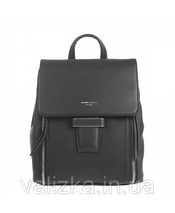 Рюкзак David Jones женский черный, фото 2