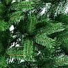 Елка искусственная литая Буковельская 2.1 м. Зеленая (Сертификат качества), фото 4