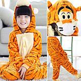 Кигуруми детская пижама тигр для мальчиков и девочек цельный костюм, фото 2