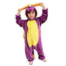 Кигуруми піжама дитяча Дракон костюм цілісна комбінезон