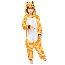Кигуруми піжама дитяча Жираф цілісна комбінезон для дітей