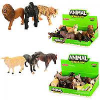Тварини дикі, домашні від 9см, 16088AB ЗА 1 ШТ