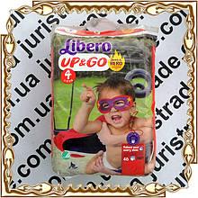 Детские подгузники Libero Up&Go 4 (трусики) 7-11 кг. 46 шт./уп.