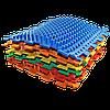 Массажный  коврик  Пазлы Микс Травка 1 элемент, фото 5