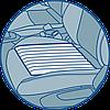 Массажная подушка для сидения, фото 4