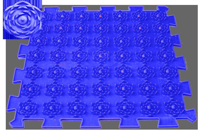 Акупунктурный массажный коврик Лотос 1 элемент