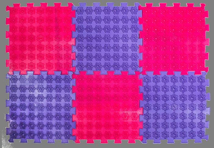 Акупунктурний масажний килимок Лотос 6 елементів