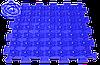 Акупунктурний масажний килимок Лотос 6 елементів, фото 3