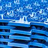 Акупунктурний масажний килимок Лотос 6 елементів, фото 6