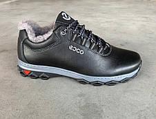Ботинки кроссовки зимние на меху черные 43,45 размер, фото 3