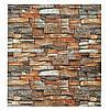 Декоративная 3Д панель стеновая Дикий Камень 10 шт моющиеся 3d панели для стен каменная кладка 700x770x5мм