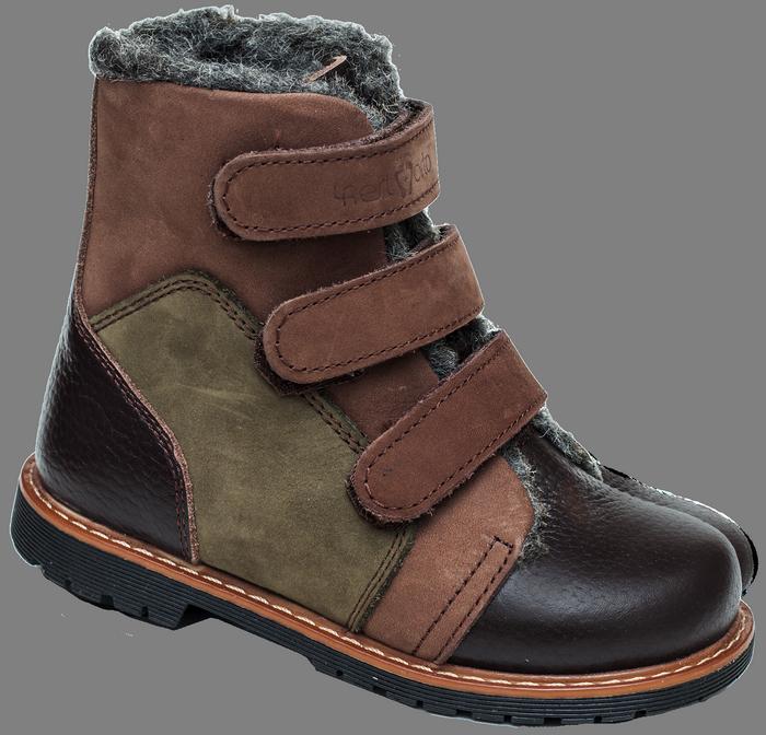 Зимние ортопедические детские ботинки 06-756 р-р. 21-30