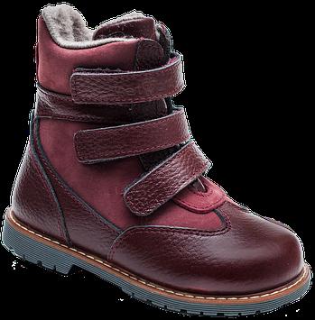 Ортопедичні черевики зимові 06-757 р. 21-30