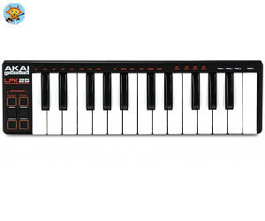 Midi-клавиатура компактная Akai LPK25 Midi 25 мини-клавиш