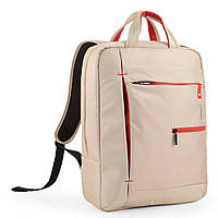 Рюкзак для ноутбука 15,6 дюймов Crown Practical Series бежевый