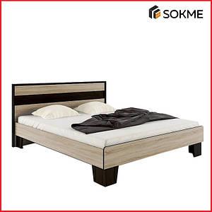 Кровать 140, коллекция СКАРЛЕТ (Сокме)
