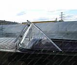 Ветровое стекло Казанка М (Стандарт П) материал ПОЛИКАРБОНАТ Kaz M Standard K, фото 3