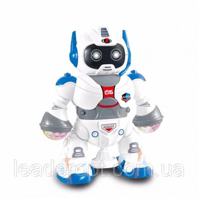 ОПТ Танцующий робот Dancing robot со звуком и светом LZCZ 6678-4