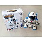 ОПТ Танцующий робот Dancing robot со звуком и светом LZCZ 6678-4, фото 3