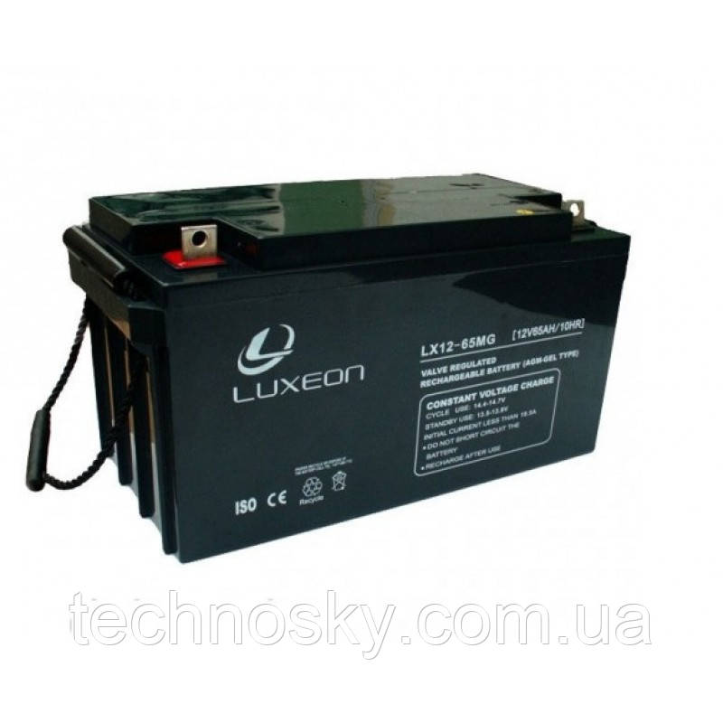 Аккумулятор мультигелевый AGM Luxeon LX 12-65MG