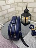 Клатч комбинированный нат.замша/кожзам качество люкс арт.0231, фото 4