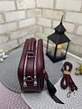 Клатч комбинированный нат.замша/кожзам качество люкс арт.0231, фото 3