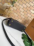 Сумка Луи Витон Capucines 27 см, натуральная кожа, цвет черный, фото 2
