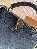 Сумка Луи Витон Capucines 27 см, натуральная кожа, цвет черный, фото 7