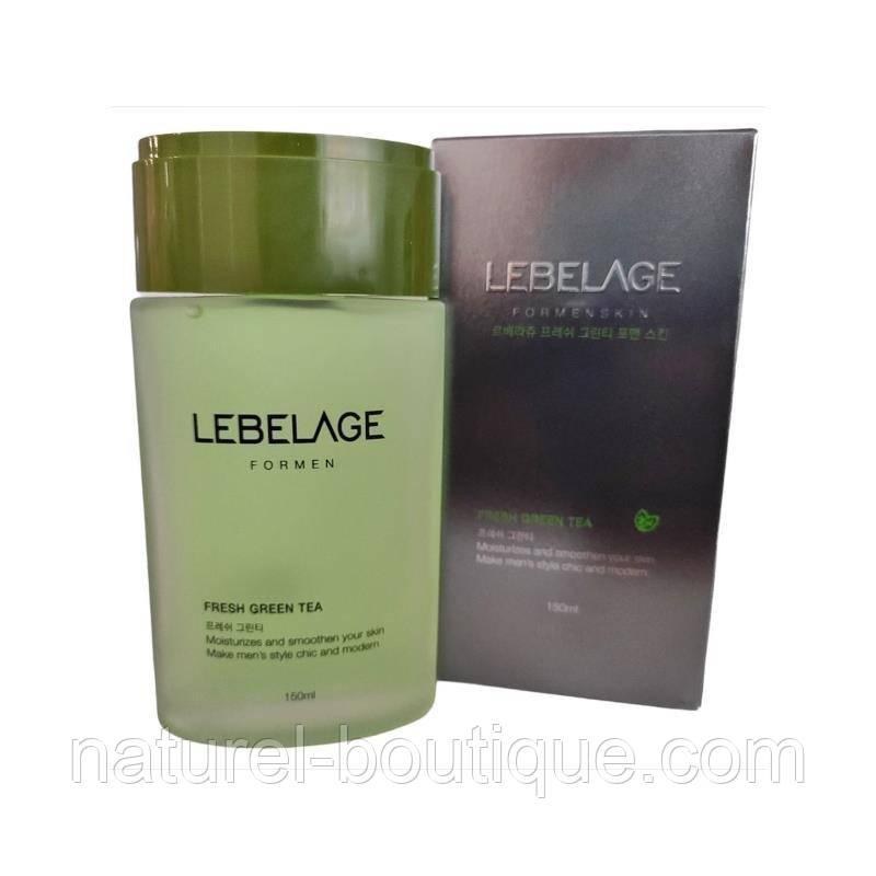 Увлажняющий лосьон для мужчин Lebelage Green  Tea Lotion