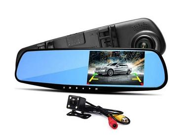 Відеореєстратор-дзеркало заднього виду Vehicle Blackbox DVR L 9000, реєстратор-дзеркало з двома камер