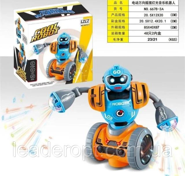 ОПТ Интерактивная игрушка танцующий робот cool robot