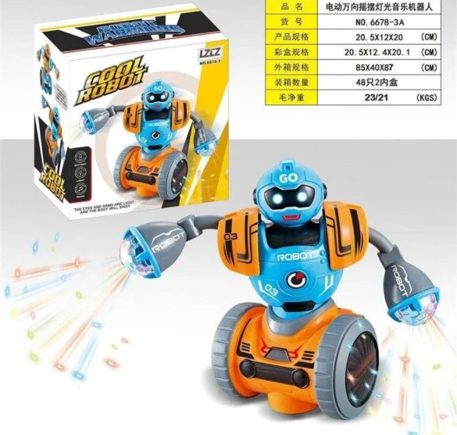 ОПТ ОПТ Інтерактивна іграшка танцюючий робот cool robot