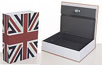 Книга-сейф MK 0791 (Union Jack)