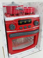 """Дитяча кухонна плита """"My Little Home"""" 3229 М, 22 см, звук, світло, посуд, фото 1"""