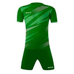 Форма футбольная SECO Galaxy Set цвет: зеленый