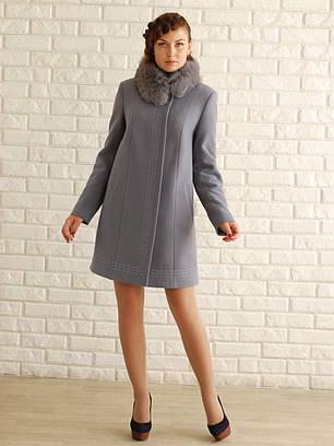 Зимнее пальто свингер