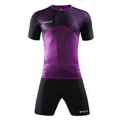 Форма футбольная SECO Geometry Set цвет: черный, фиолетовый