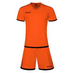 Форма футбольная SECO Basic Set цвет:оранжевый, черный